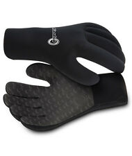 Osprey Wetsuits Adult 3mm Protective Wetsuit Gloves XS-L Sizes NEW Black
