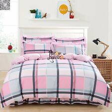 NEW 100% Cotton Twin Full Queen King Size Duvet/Quilt Cover Bedding Set