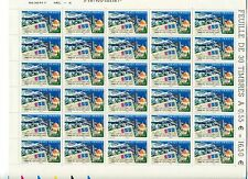 ISRAEL STAMPS 2008 SPECIAL 60 MNH STAMPS 2 SHEETS OF ISRAEL & FRANCE JOINT ISSUE