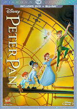 Peter Pan (Blu-ray/DVD, 2013, 2-Disc Set, Diamond Edition; DVD/Blu-ray)