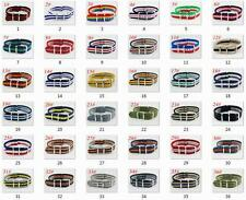 18mm Watchband Army Fiber Woven Nylon Watch Strap Wristwatches Bands band straps