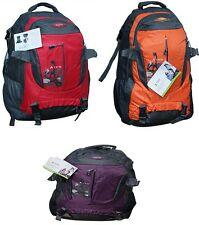 45 LITRE LARGE CAMPING RUCKSACK BACKPACK HIKING TRAVEL OUTDOOR LUGGAGE BAG