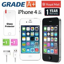 Apple iPhone 4S 16 32 64 8GB Factory Unlocked Mobile Smartphone White  Black UK
