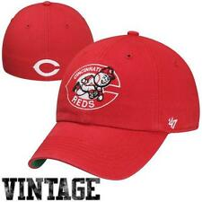Cincinnati Reds 47 Brand Franchise Cooperstown Fitted Cap Hat