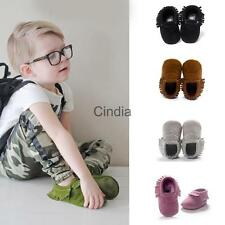 Newborn Tassel Bow Baby Infant Soft Sole Shoes Sandals Boy Girl Toddler Moccasin