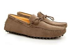 Mens Suede Plus Size Driving Moccasins Comfortable Slip on Loafers Casual Shoes
