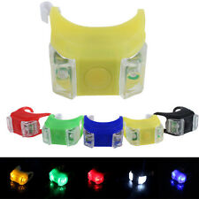 Bike Bicycle Silicone Frog Head Rear Lamp Warning Flash Light LED Bright Hot