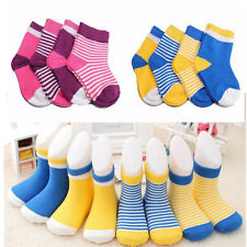 4 Pairs/set Socks Newborn Infant NEW Baby Lovely 0-3 Years 2016 Cotton HOT Soft