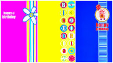 Top Quality Female Birthday Greeting Cards Blank Inside 4 Designs 2 Choose From