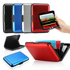 Business ID Credit Name Card Wallet Holder Aluminum Metal Pocket Case Box