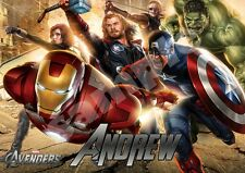 Avengers Personalised Placemat (A4 Size) great present gift stocking filler