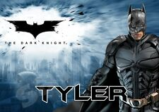 Batman Dark Knight Personalised Placemat (A4 Size) great gift stocking filler