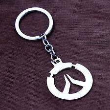 Popular Game Overwatch Sign Pendant Necklace/Key Chain Key Ring Collectible Gift