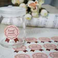 """""""Handmade delicious """"Sticker Seals Label For Packing Gift , Craft ,Cookies DIY"""