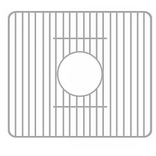 Whitehaus GR532 Farmhaus Fireclay Stainless Steel Sink Grid Stainless Steel