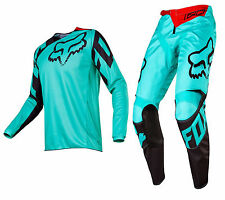 2017 Fox Racing 180 Race Jersey Pant Gear Combo Adult Dirtbike Offroad MX Green