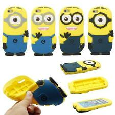 3D Cartoon Despicable ME Minions Silicone Case For Apple iPhone 4G 5G 6 6s Plus