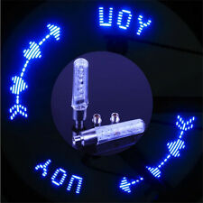 2pcs Flash LED Bicycle Motorcycle Bike Tire Tyre Spoke Wheel Valve Light Lamp