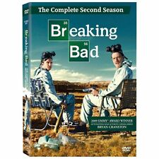 Breaking Bad: The Complete Second Season 2 (DVD, 2010, 4-Disc Set) BRAND NEW