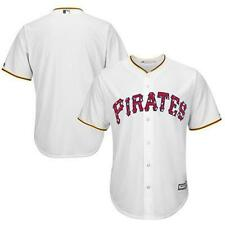 $100 Pittsburgh Pirates Majestic Stars and Stripes Cool Base white jersey