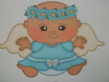 3D- U Pick - Angel Baby Flowers Fairy Scrapbook Card Embellishment 217