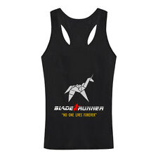 BLADE RUNNER ORIGAMI UNICORN - Retro 80's Classic SCI FI Movie Sleeveless Shirt