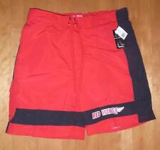Mens Detroit Red Wings SWIM TRUNKS Size Large XL XXL swimming suit Shorts NWT