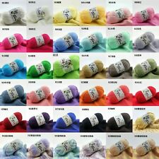 Wholesale!! Wool colors Super Soft Natural Smooth Bamboo Cotton Knitting Yarn