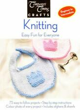 Knitting Easy Fun for Everyone Book 75 Easy To Follow Projects How To Knit Guide