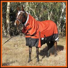 LOVE MY HORSE RUG 1200D 180g 5'3 5'6 6'6 Waterproof Ripstop Winter Combo Orange