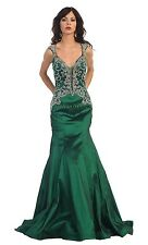 Long Homecoming Dress Prom Gown Formal