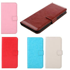 Flip PU Leather Hard Wallet Case Cover Stand Folded Magnetic Clip for iPhone  YM