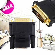 DVI Male to HDMI Female adapter Gold-Plated NEW M F Converter For HDTV LCD J#~