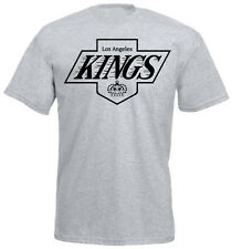 LOS ANGELES KINGS BRAND NEW T SHIRT VINTAGE SHIRT - HEATHER GRAY FREE SHIPPING