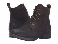 Women's Born Lace Up ZipOn Bootie Boot Troye Cafe Distressed Brown F06206