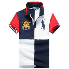 2015 new POLO  men's cotton short-sleeved T-shirt (4Color)