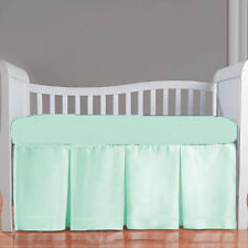 Crib Bedding Set Fitted Pillowcase Thre Pleated Skirt Bumper Comforter- 5PC Set