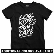 Cool Kids Don't Care Kids T-shirt - Baby Toddler Youth Tee - Streetwear Hipster