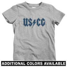 Coast Guard Rocks Kids T-shirt - Baby Toddler Youth Tee  Gift USCG United States