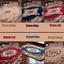 Persian Style  Carpet Traditional Oriental Floral Medallion Area Rug Runner Mat