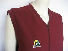 Domino Sarah Zip Vest, Maroon - Clearance - HALF PRICE! Now only $37