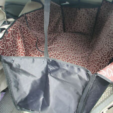 4 Color Choice Kennel Club Rear Seat Pet Cradle Protector Car Seat Cover Dog Cat