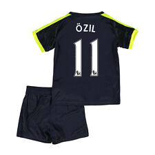 Kids Jersey Soccer Kits 2017 Arsenal 2nd Away Kids Short Sleeve Team Suit+Sock