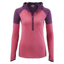 Kathmandu driMOTION Womens Active 1/2 Zip Top Training Pullover Hoodie Pink
