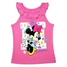 Disney Minnie Mouse  Toddler Girls Tank Top  T-Shirt Sizes  3T, 4T NWT
