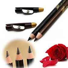 2pc Lady Waterproof Eyebrow Eye Liner Pencil Pen Eyeliner Makeup Tools