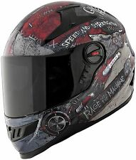 Speed and Strength SS1700 Solid Speed Full Face Motorcycle Helmet Matte Black
