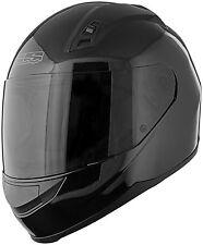 Speed and Strength SS700 Solid Speed Full Face Motorcycle Helmet Gloss Black
