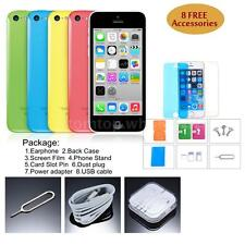 """Apple iPhone 5C Smartphone 3G WCDMA Dual Core 4"""" 8GB ROM 8MP Cell Phone Q9D2"""