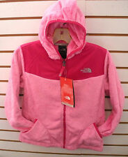 THE NORTH FACE GIRLS OSO HOODIE FLEECE JACKET-#APZE- L, XL-RUFFLE PINK-NEW